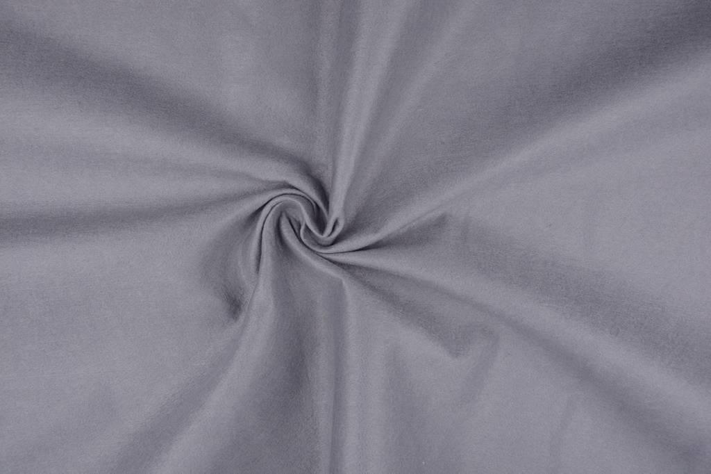 Koreaans vilt 1 mm Licht grijs