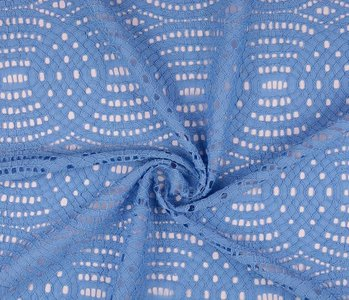 Lace SpitzenStoff 1 Baby Blau