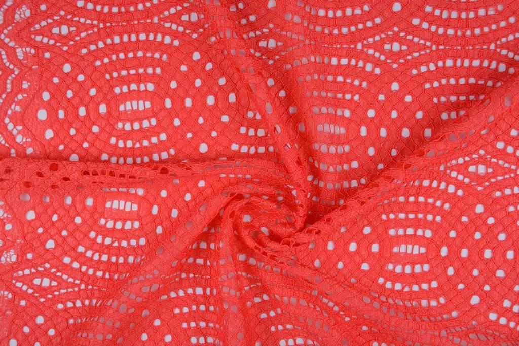 Lace SpitzenStoff 1 Rot