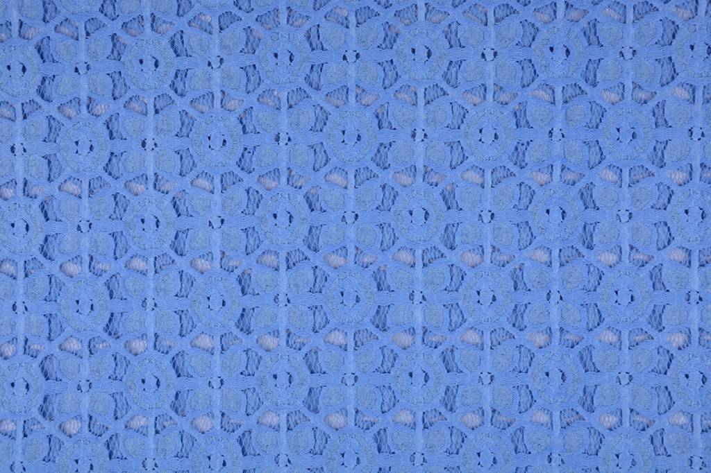 Lace SpitzenStoff 4 Baby Blau