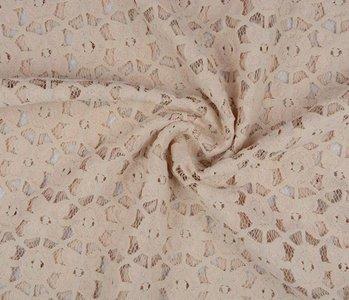 Lace SpitzenStoff 4 Zand