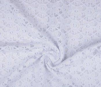 Lace SpitzenStoff 4 Weiß