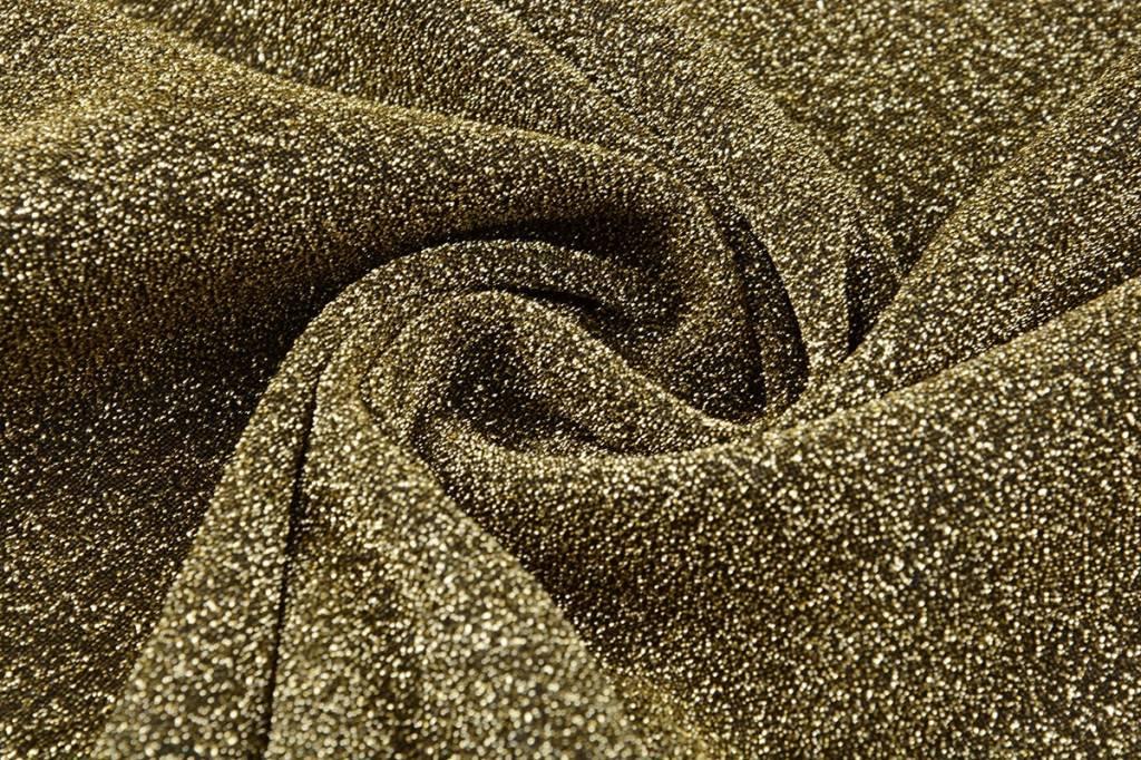 Lurex Dans Dunkel gold