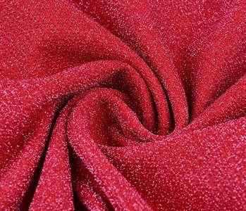 Lurex Dance Fraise red