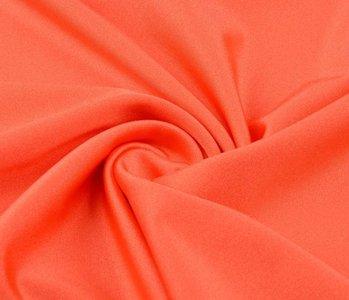 Lycra Stoff Glänzendes Orange