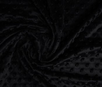 Minky Fleece Black