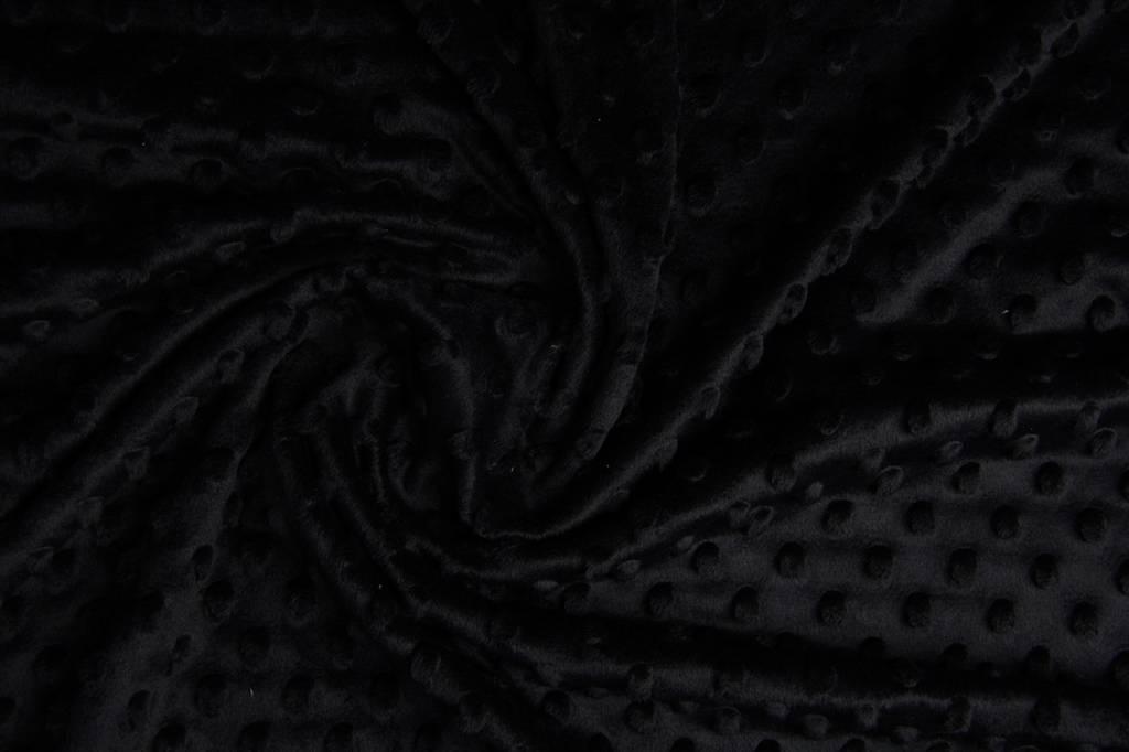 Minky Fleece Black