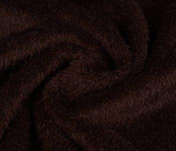 Muishaar fleece Donker bruin