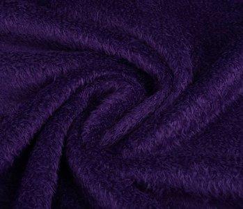 Maus-Haar Fleece Dunkel Lila