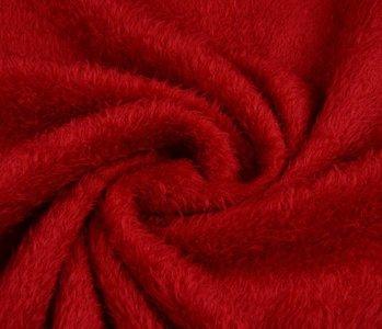 Muishaar fleece Rood