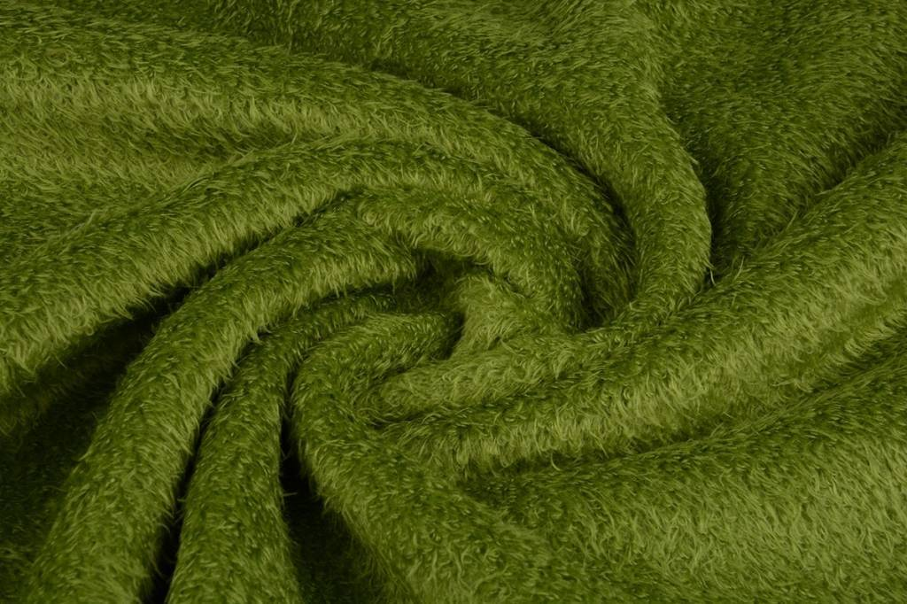 Muishaar fleece Licht mosgroen