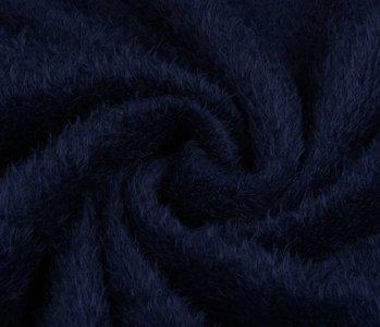 Maus-Haar Fleece Marine