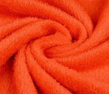 Maus-Haar Fleece Orange