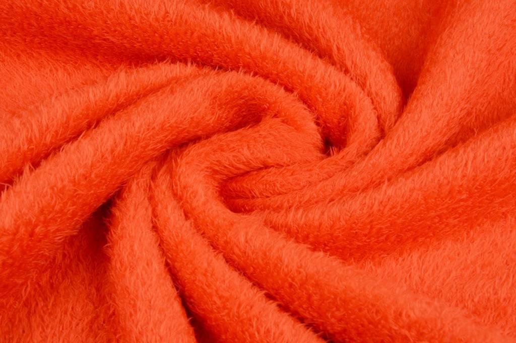 Maus-Haar Fleece Orange