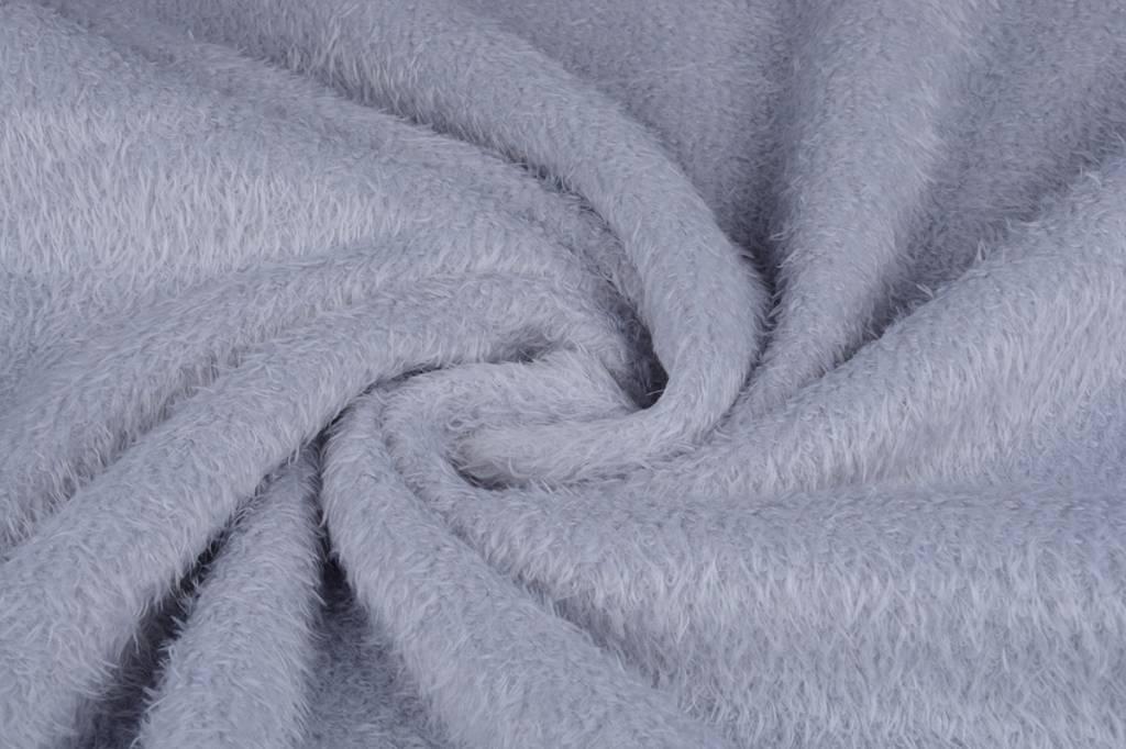 Maus-Haar Fleece Zilver