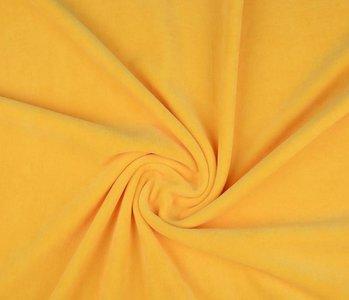 Nicky Velours Kanarie geel