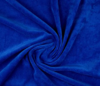 Nicky Velours Konings Blauw