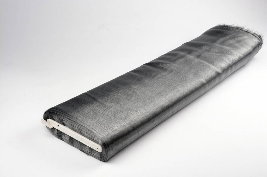 Organza Two-Tone Grijs-zwart