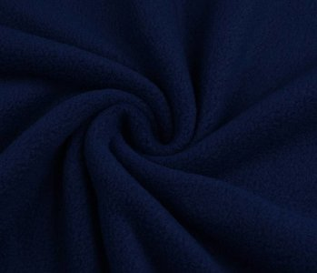 Polar Fleece Dunkel Blau