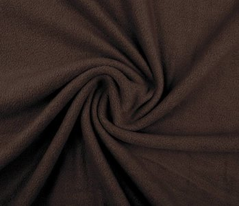 Polar Fleece Dark brown