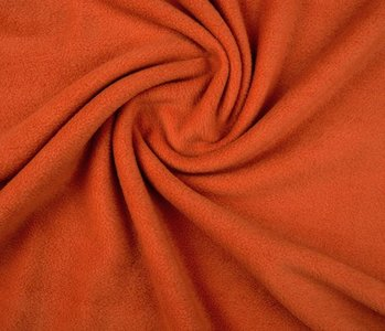 Polar Fleece Dunkel Orange