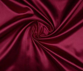 Poly Satin Dark red