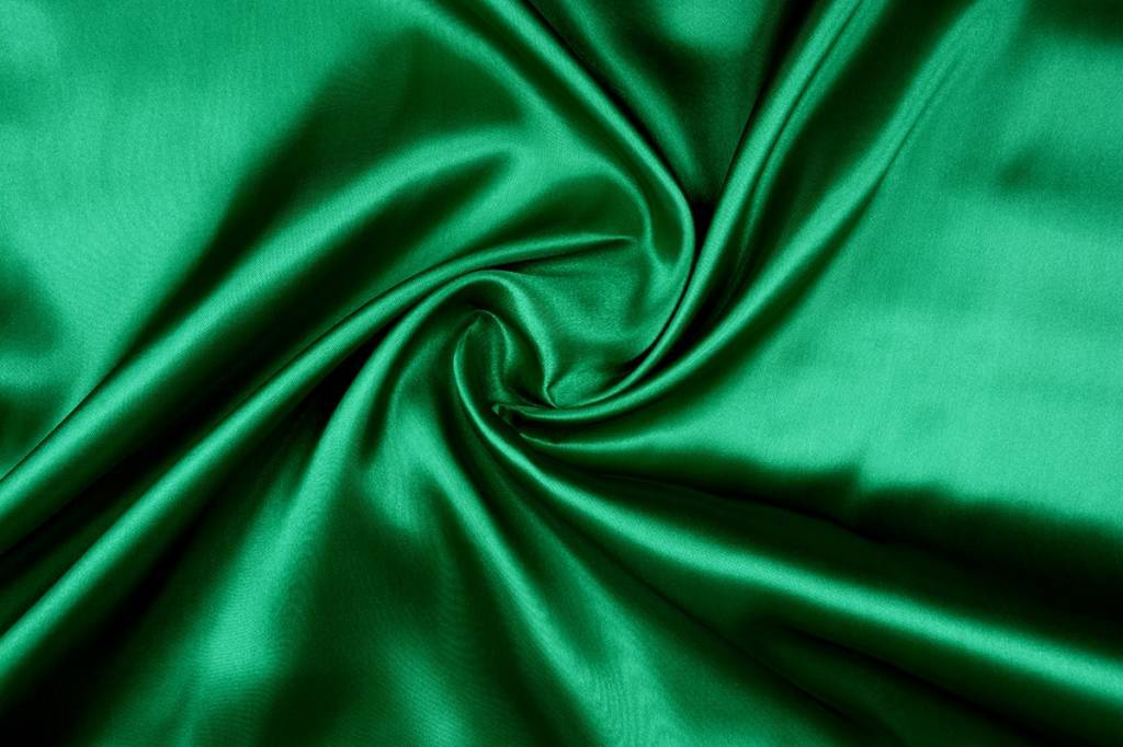Poly Satijn Groen