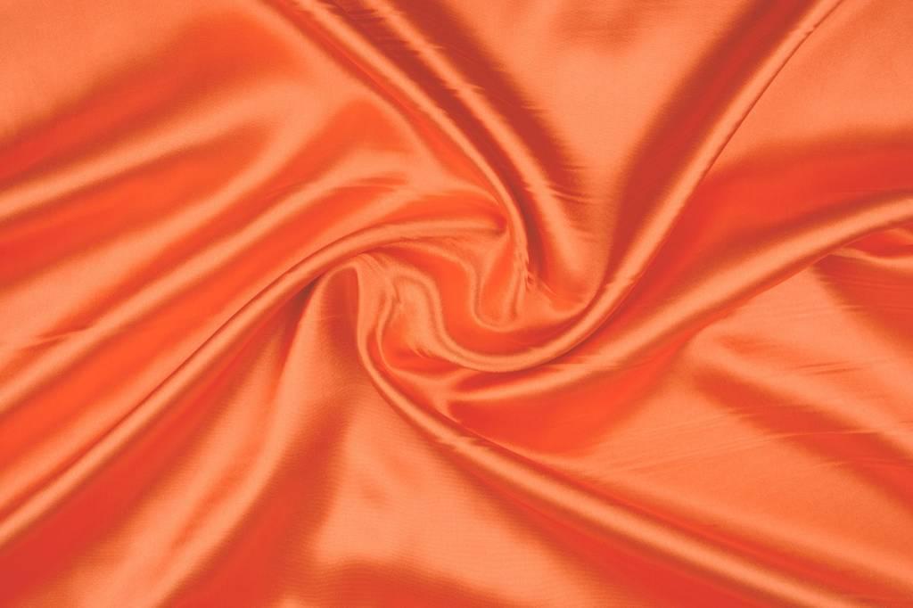 Poly Satijn Oranje
