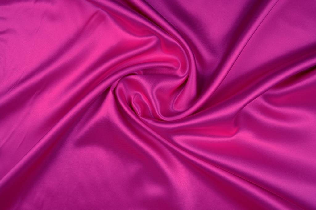 Poly Satijn Fuchsia