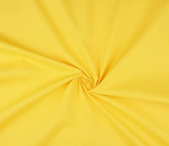Poplin Citron Yellow