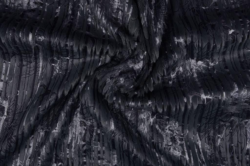 Stripe Fur Foil Marine