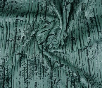 Stripe Fur Foil Oud mint