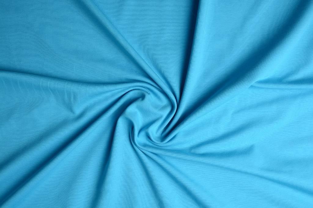 Oeko-Tex®  Cotton Jersey Aqua
