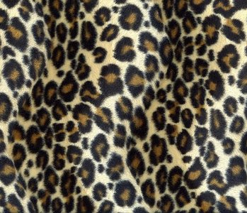 Velboa small Panther-print
