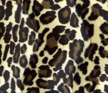 Velboa medium Panther-print