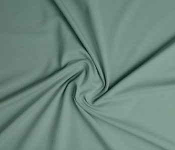 Oeko-Tex®  Cotton Jersey Oud Groen