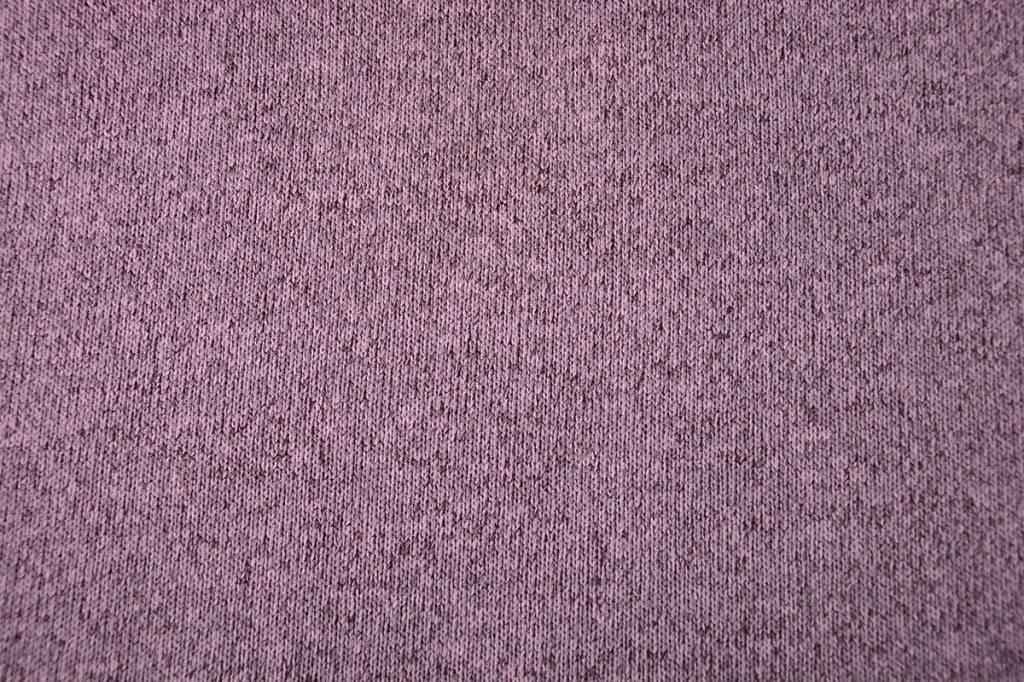 Knitted Jogging, Fur Melange Old Pink