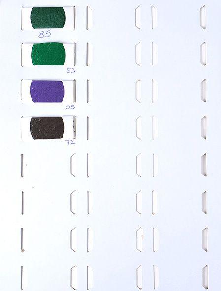 Stalenkaart Crinkle Taft 0723