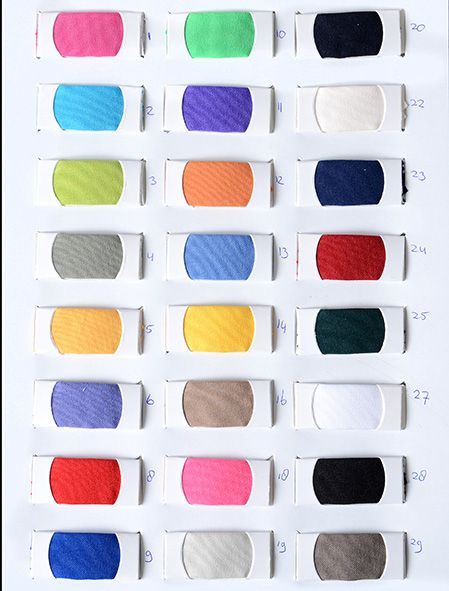 Farbekarte Bi-stretch