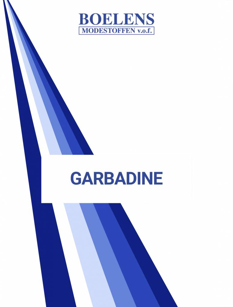 Oeko-Tex®  Stalenkaart Gabardine