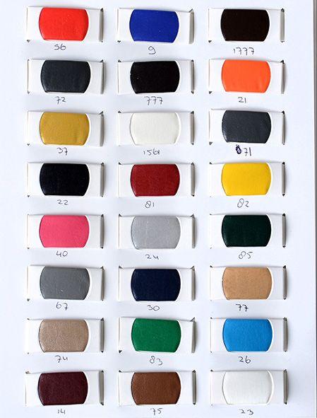 Oeko-Tex®   Farbekarte Imitatieleer