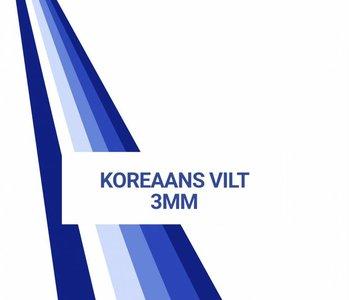 Oeko-Tex®  Samplecard Koreaans Vilt 3mm