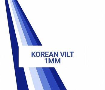 Farbekarte Koreaans Vilt 1mm