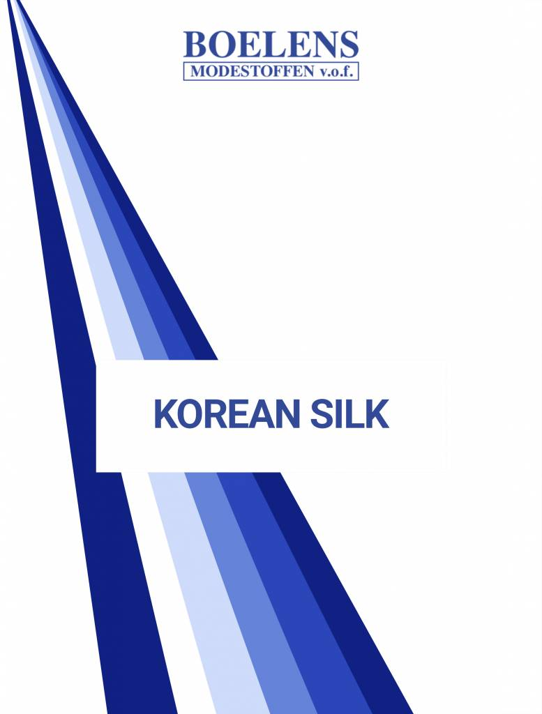 Stalenkaart Korean Silk