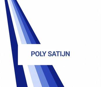 Stalenkaart Poly Satijn