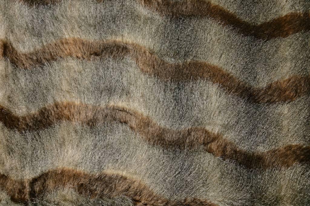 Pelzigen Braun