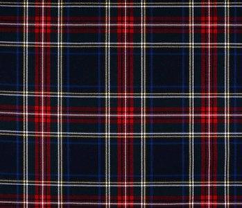 Scottish checks stretch 3 Black