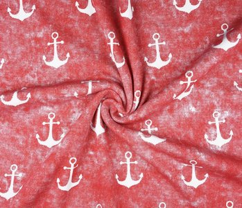 Jogging alpenfleece Anchor Red