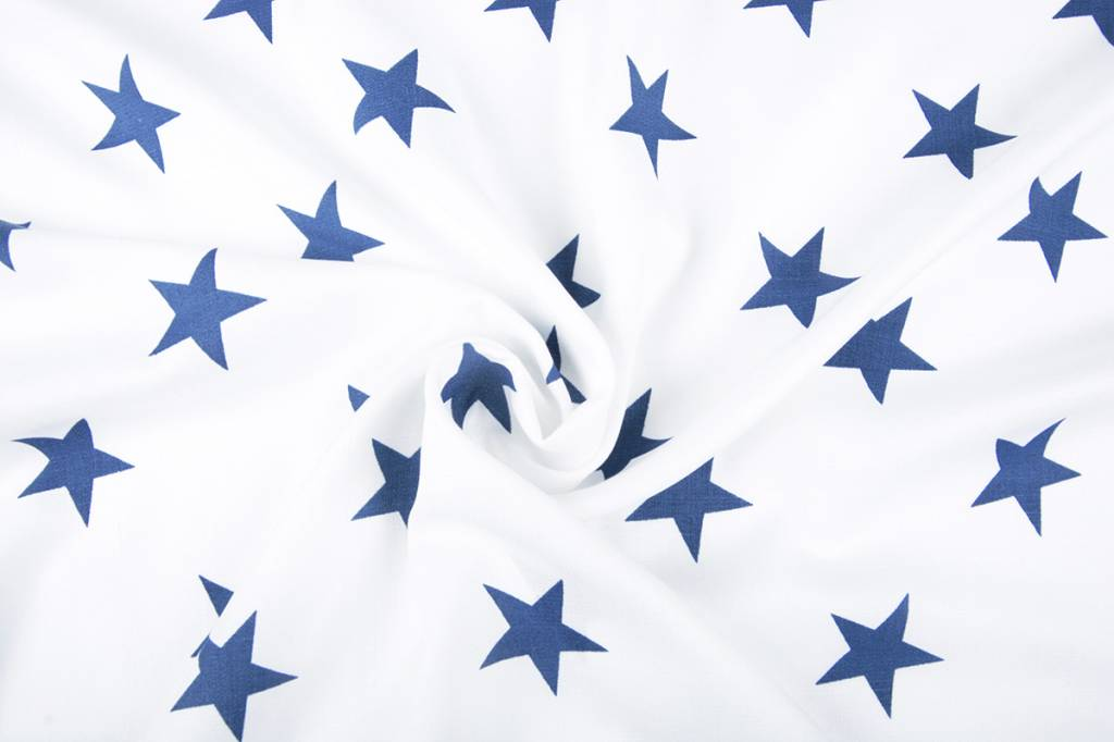 Linnenlook Printed Stars Blue
