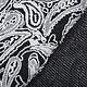 Jacquard Gestrickt Oriental Schwarz weiß